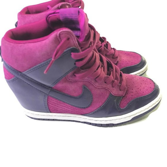 d60703e3 Women's Nike purple high tops